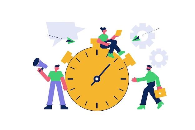 효과적인 시간 관리 및 비즈니스 작업 계획
