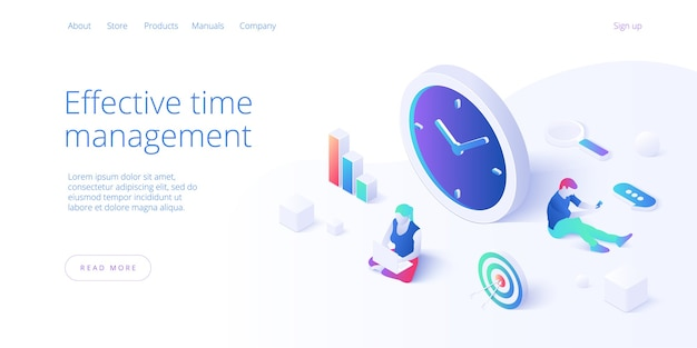 Effective time management in flat . woman working and task prioritizing. organization for effective productivity. job schedule optimization concept.