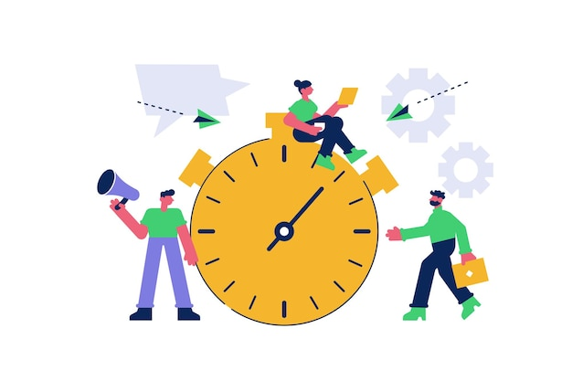 Effective time management and planning business tasks