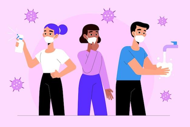 코로나 바이러스를 예방하는 효과적인 방법