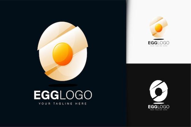 卵のロゴデザイン