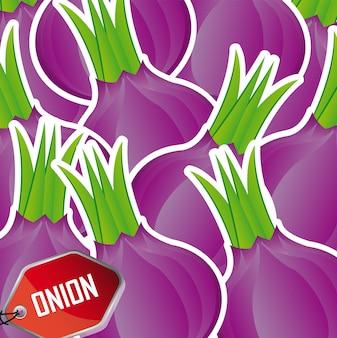 Eggplant background