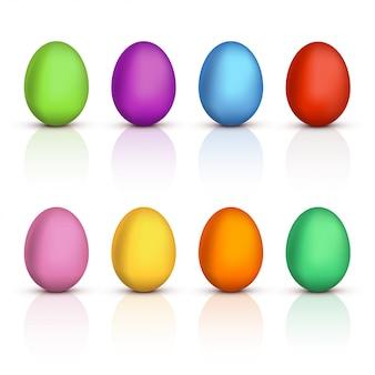 Яиц много
