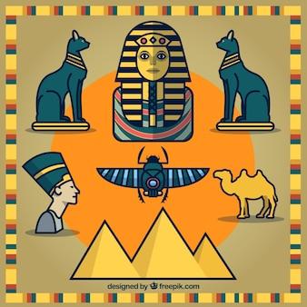 Egiptian cartoons
