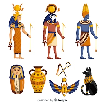 Egypt gods and symbols