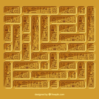 Egypt hieroglyphic background