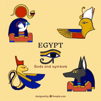 Egyptian gods collection