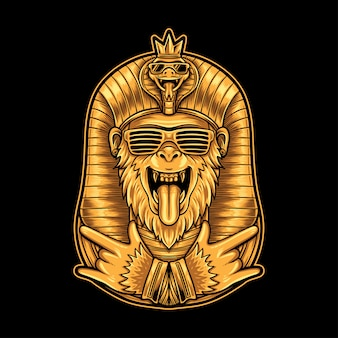 Египетская обезьяна хип-хоп