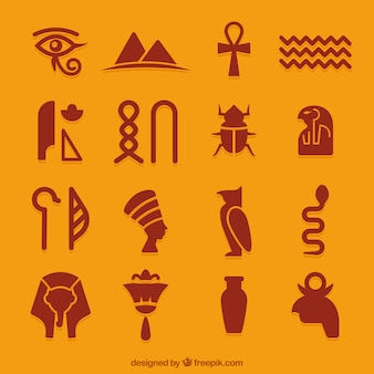 Egyptian icons