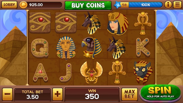 Egyptian  slots game