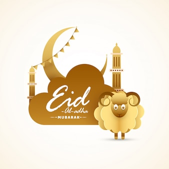 Eid-al-adha concept