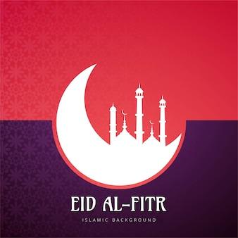Eid alfitr colorful background