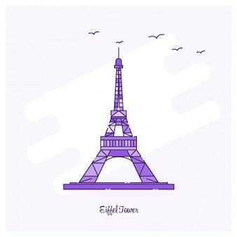 Eiffel tower landmark