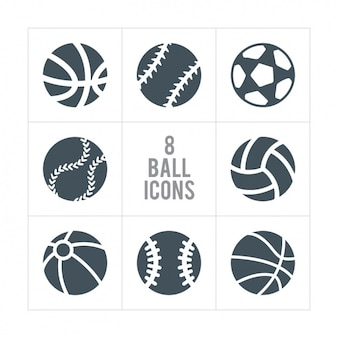 Eight ball icons