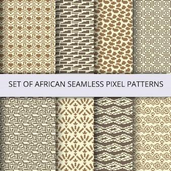 Eight beautiful pixel patterns
