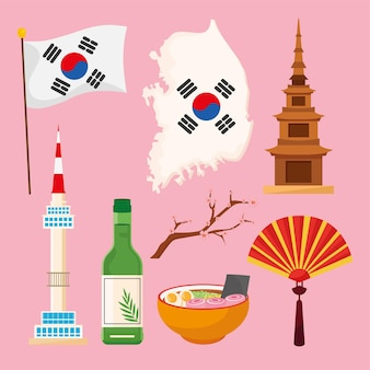 Восемь икон корейской культуры