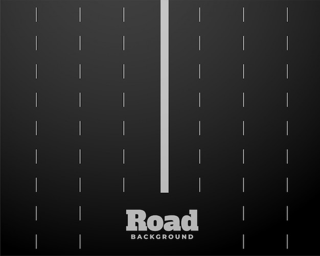 Eight lane black road highway background