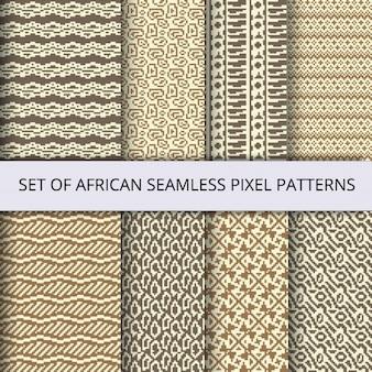Eight useful pixel patterns