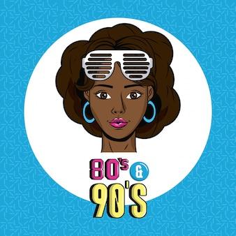 Eighties and nineties style