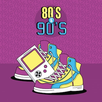 Eighties and nineties style