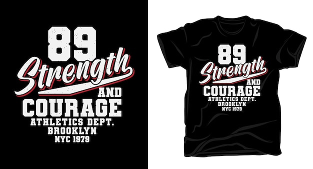 Восемьдесят девять сил и смелости для дизайна футболок