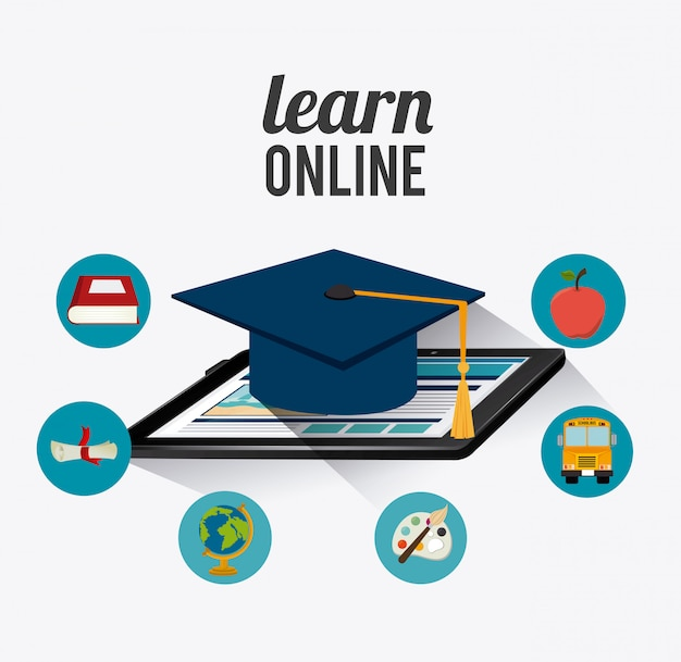 Elearning digital design.