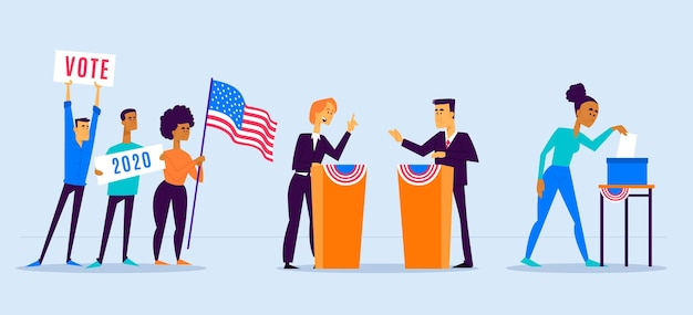 Scene di campagna elettorale
