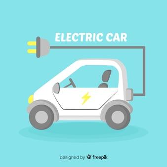전기 자동차 배경