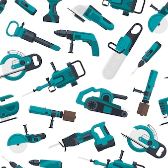 Electric construction tools pattern