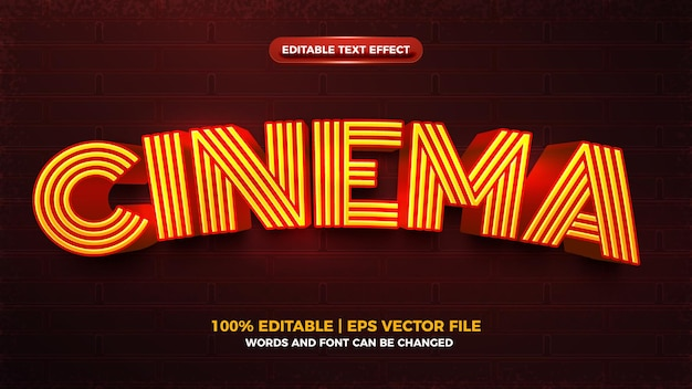 Electric flash charging editable text effect template
