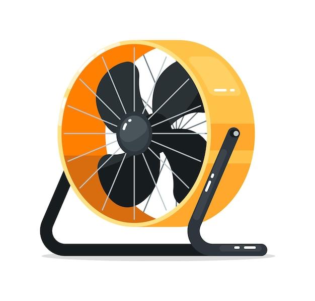 Electric floor fan ventilation equipment