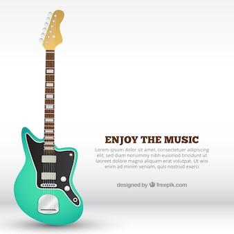 Sfondo chitarra elettrica