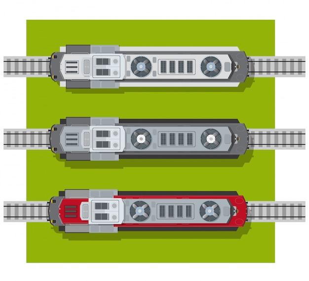 Electric locomotive of railways