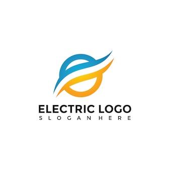 電気ロゴテンプレート