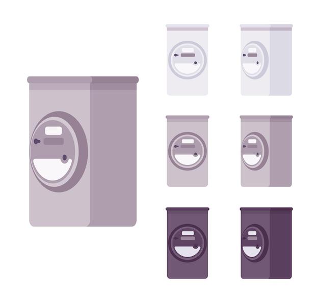 전기 계량기 상자 세트