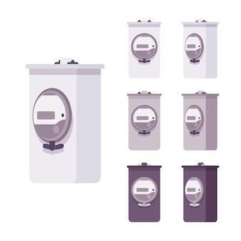 전기 미터 측정 상자 세트
