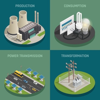 Electric power production
