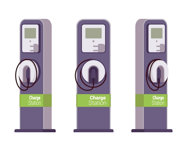 Electric vechle charging station