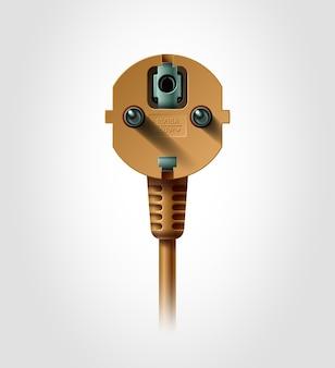 電気プラグ、リアルなオブジェクト