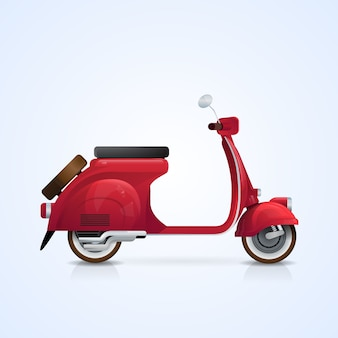 Electrical scooter retro electric transport