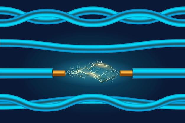 Электрический провод или элементы кабеля d конструкция