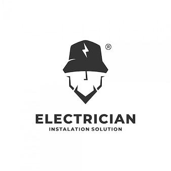 Концепция логотипа электрика