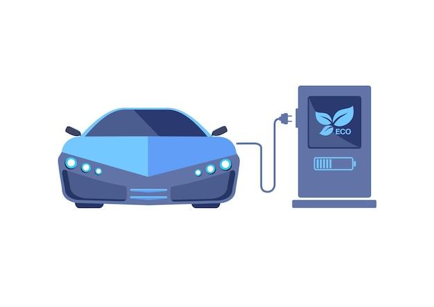 未来の電気自動車輸送