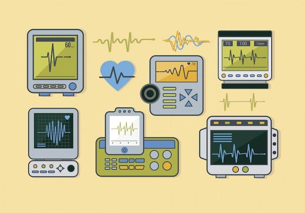 Electrocardiogram collection