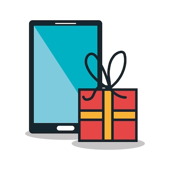 Electronic commerce  isolated icon design