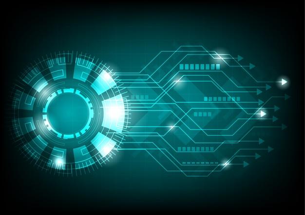 Electronic cycle background