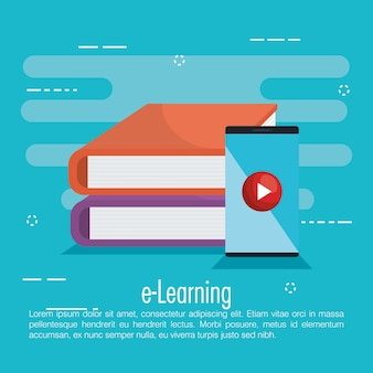 Electronic education with smartphone