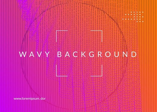 Electronic fest. dynamic fluid shape and line. energy concert brochure concept. neon electronic fest flyer. electro dance music. trance sound. club event poster. techno dj party.