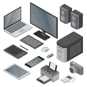Electronic and gadget object devices collection