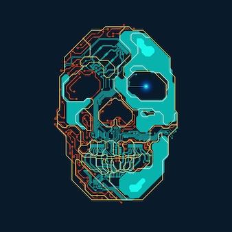 Electronic Skull